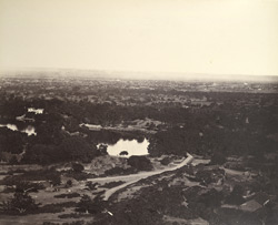 General view of Poona, near Bombay.